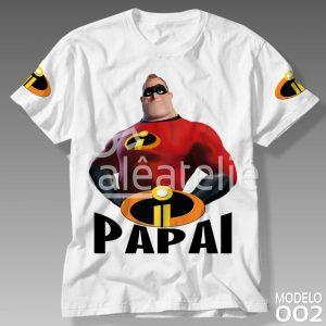 Camiseta Os Incríveis 002