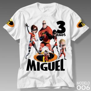 Camiseta Os Incríveis 006