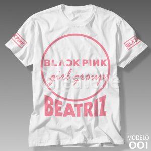 Camiseta Black Pink 001