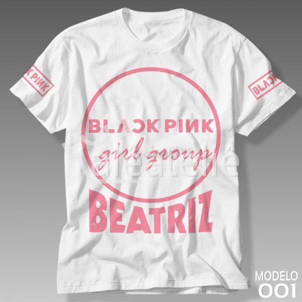 Camiseta Black Pink