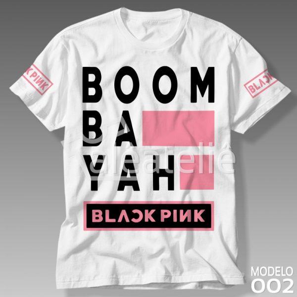 Camiseta Black Pink BoomBaYah