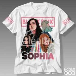 Camiseta Black Pink Personalizada