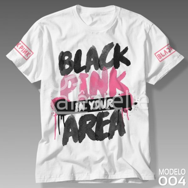 Camiseta Black Pink In Your Area
