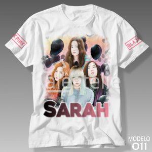 Camiseta Black Pink 011