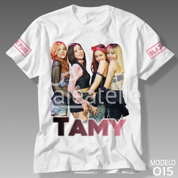 Camiseta Black Pink Customizada