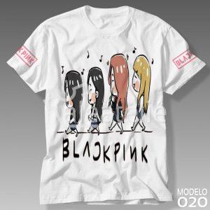 Camiseta Black Pink 020