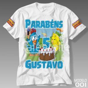 Camiseta Galinha Pintadinha 001