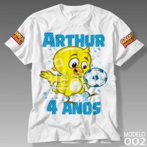 Camiseta Galinha Pintadinha 002