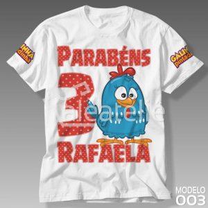 Camiseta Galinha Pintadinha 003