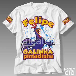 Camiseta Galinha Pintadinha 010