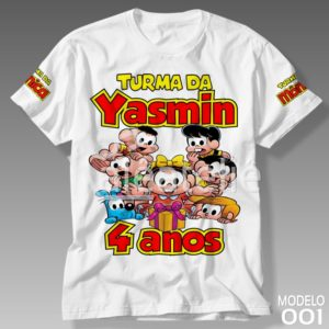 Camiseta Turma da Mônica 001