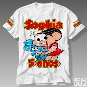 Camiseta Turma da Mônica 002