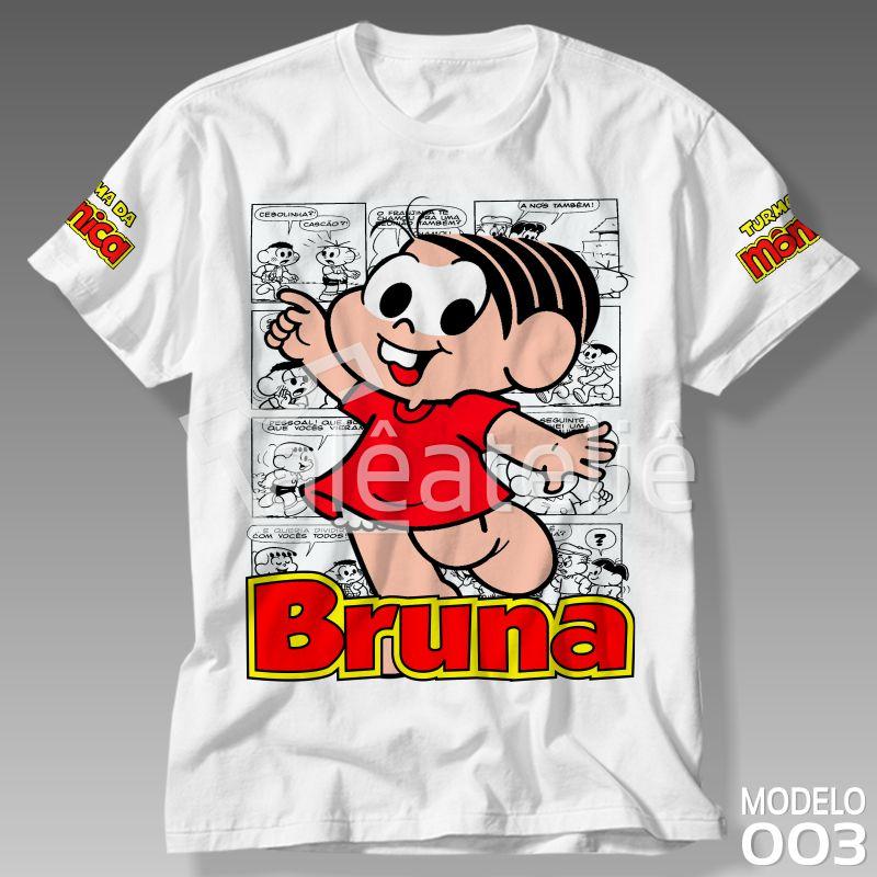 Camiseta Monica Personalizada