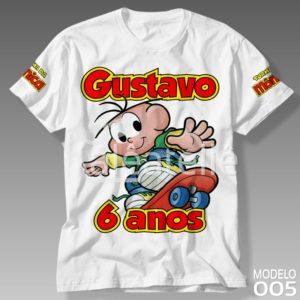 Camiseta Turma da Mônica 005