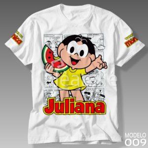 Camiseta Turma da Mônica 009