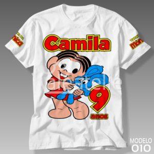 Camiseta Turma da Mônica 010