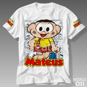 Camiseta Turma da Mônica 011