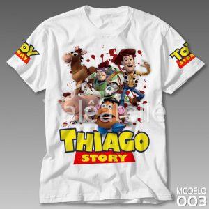 Camiseta Toy Story Personalizada