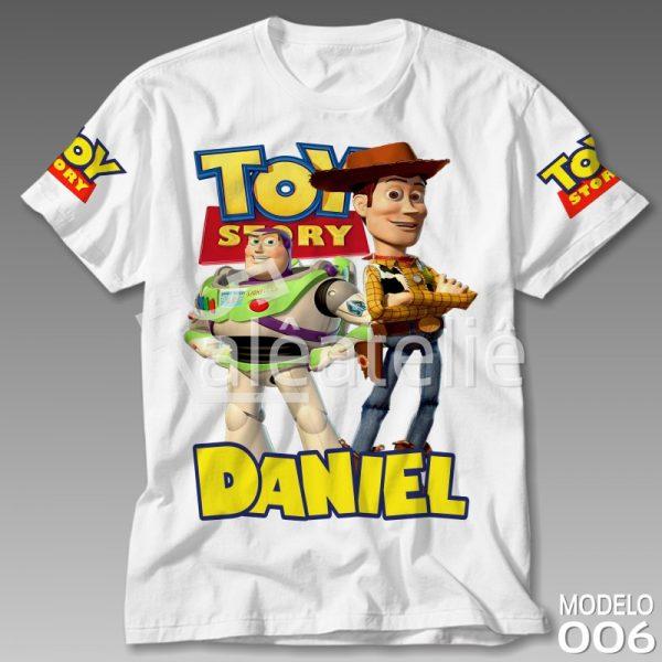 Camiseta Toy Story Woody Buzz