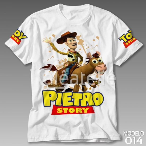 Camiseta Toy Story Bala Alvo