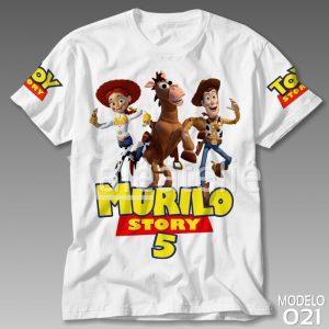 Camiseta Toy Story Festa Aniversário