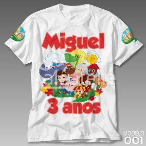 Camiseta Sitio do Picapau Amarelo 001
