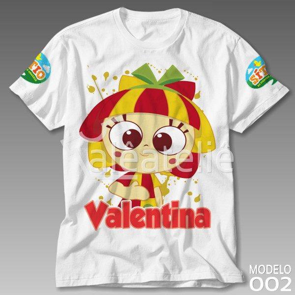 Camiseta Sitio do Picapau Amarelo Emília