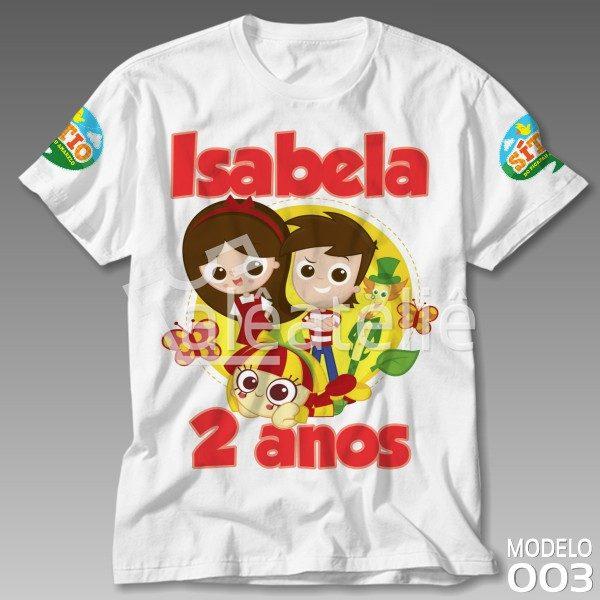 Camiseta Sitio Picapau Amarelo