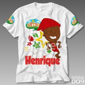Camiseta Sitio Picapau Amarelo Saci