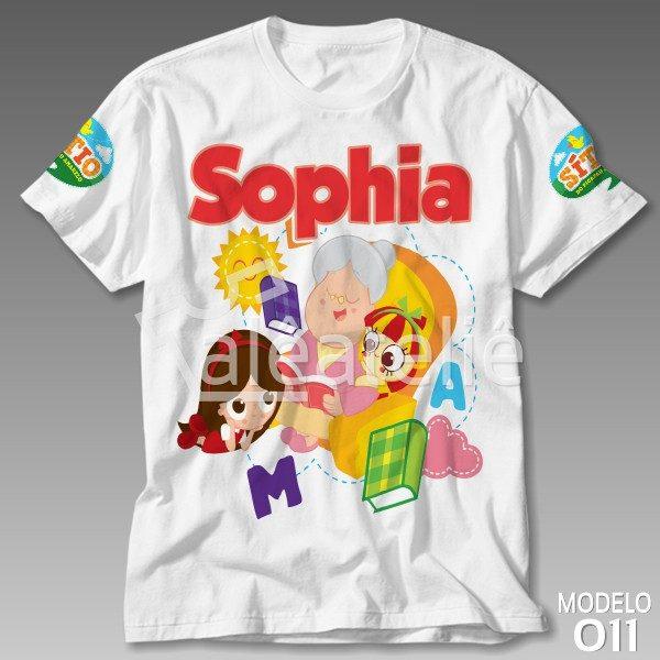 Camiseta Sitio Picapau Amarelo Personalizada
