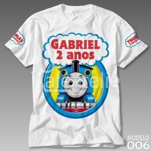 Camiseta Thomas Aniversário