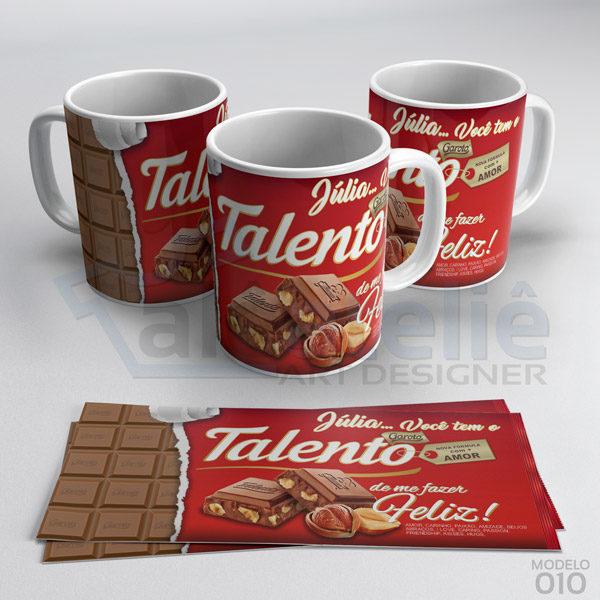Caneca Páscoa Chocolate