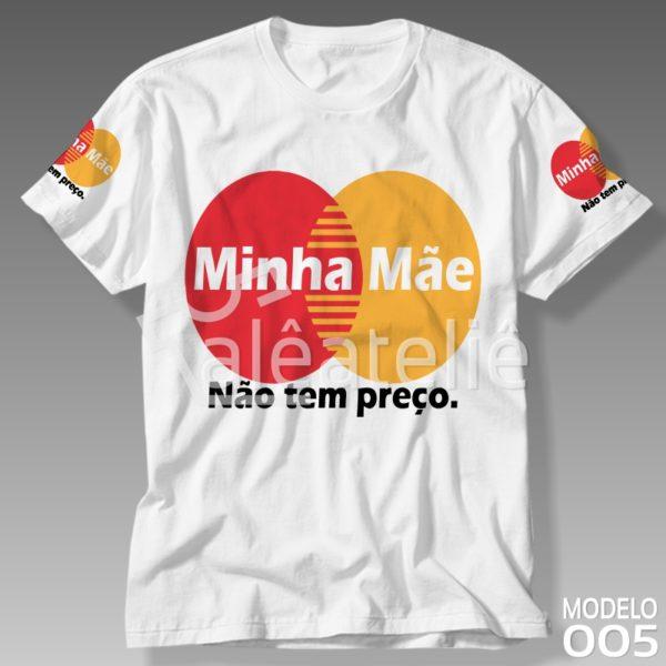 Camiseta Dia das Mães Preço