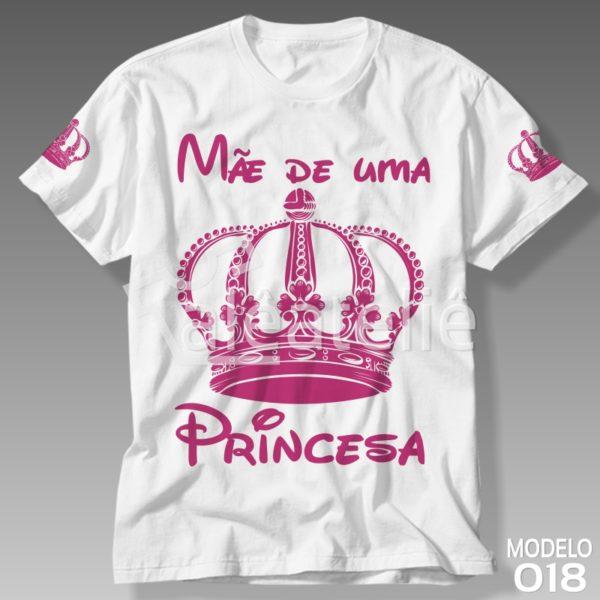 Camiseta Dia das Mães Princesa