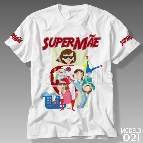 Camiseta Supermãe