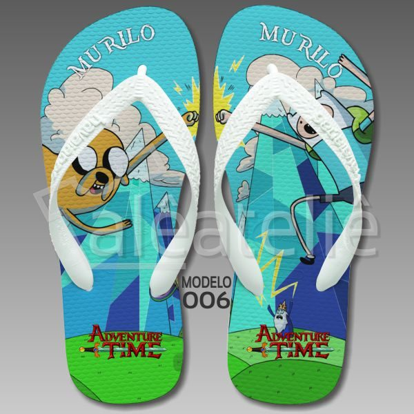Chinelo Adventure Time