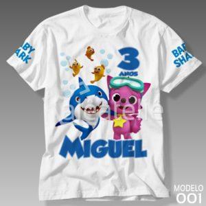 Camiseta Baby Shark 001