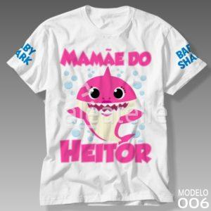 Camiseta Mommy Shark