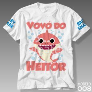 Camiseta Baby Shark 008