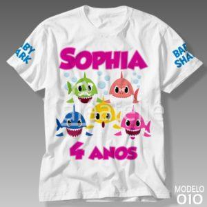 Camiseta Baby Shark 010