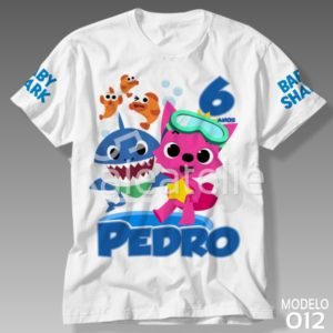 Camiseta Baby Shark 012