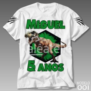 Camiseta Dinossauro 001