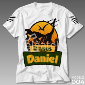 Camiseta Dinossauro 004