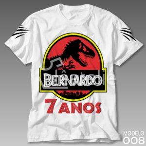 Camiseta Dinossauro 008