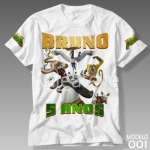 Camiseta Kung Fu Panda 001