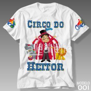 Camiseta Circo 001