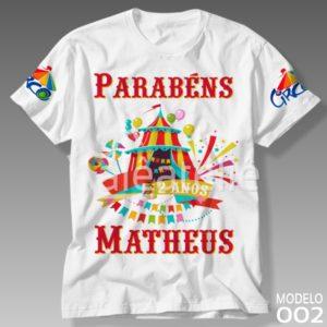 Camiseta Circo 002