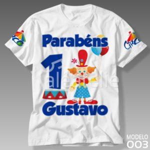 Camiseta Circo 003