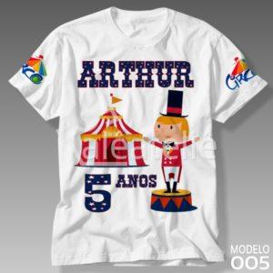 Camiseta Circo 005