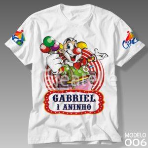 Camiseta Circo 006